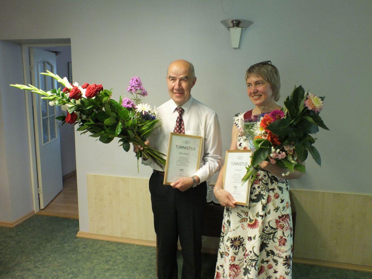 Jakob Hurda rahvuskultuuri auhinnad aastal 2018 pälvisid  Rein Saukas ja Tiia Allas