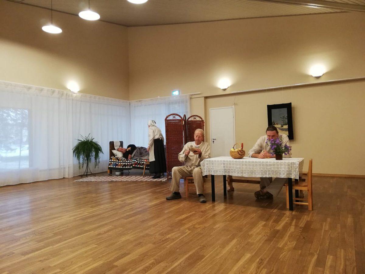 Põlva Linna Harrastusteater esitas
